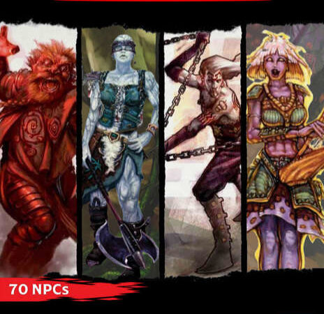 Bolster Your Campaigns with 70 More D&D NPCs In  BRAWLER, BANDIT, BRIGAND, BARD